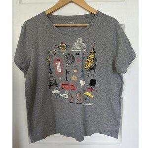 J.Crew Destination London Collector T-shirt
